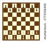 chessboard. illustration for...