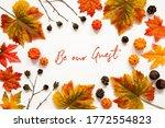Bright Colorful Autumn Leaf...