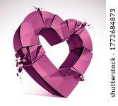 Breakup Concept Of Broken Heart ...