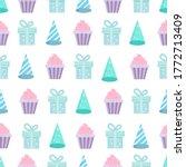 Birthday Party Seamless Pattern ...