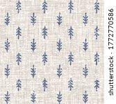 Seamless French Farmhouse Linen ...
