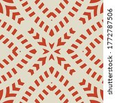 vector geometric seamless... | Shutterstock .eps vector #1772787506