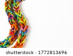 rubber bands looped together in ... | Shutterstock . vector #1772813696