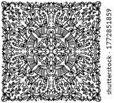 black and white pattern vector...   Shutterstock .eps vector #1772851859
