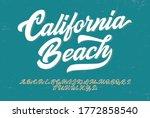 """california beach"". original... | Shutterstock .eps vector #1772858540"