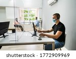 call center customer service... | Shutterstock . vector #1772909969