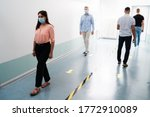 people in office following... | Shutterstock . vector #1772910089
