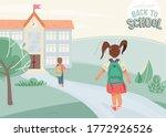back to school vector... | Shutterstock .eps vector #1772926526