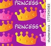 Princess  Seamless Pattern....