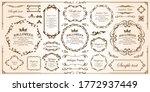 halloween frame material ... | Shutterstock .eps vector #1772937449