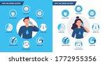 drinking water benefits.... | Shutterstock . vector #1772955356