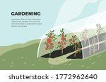 Design Template Of Gardening....