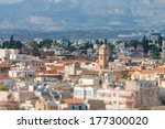 A View Of Nicosia. Cyprus