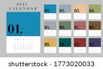2021 twelve months new year... | Shutterstock .eps vector #1773020033
