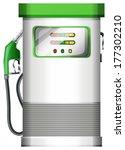 Illustration Of A Petrol Pump...