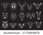 set of geometric abstract...   Shutterstock .eps vector #1773095870