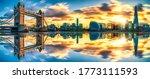 Tower Bridge Sunset Panorama...