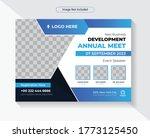 corporate business summit flyer ... | Shutterstock .eps vector #1773125450