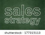 advertising concept  text sales ... | Shutterstock . vector #177315113