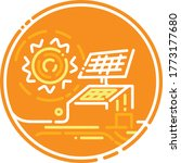green energy graphic  vector... | Shutterstock .eps vector #1773177680