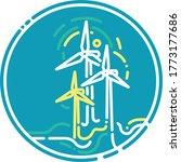 green energy graphic  vector... | Shutterstock .eps vector #1773177686