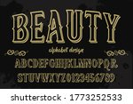 vector alphabet  letters and... | Shutterstock .eps vector #1773252533