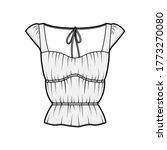 shirt technical fashion...   Shutterstock .eps vector #1773270080