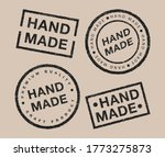 vector set of linear badges and ... | Shutterstock .eps vector #1773275873