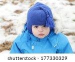 funny portrait of a little boy... | Shutterstock . vector #177330329