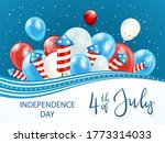 independence day background... | Shutterstock . vector #1773314033