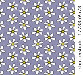 White Chamomile Daisy. Floral...