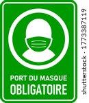 Port Du Masque Obligatoire  ...