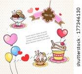 sweet background   Shutterstock .eps vector #177346130