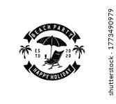 summer badges labels  emblems... | Shutterstock .eps vector #1773490979