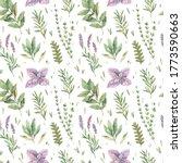 watercolor seamless pattern...   Shutterstock . vector #1773590663