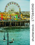View Of The Ferris Wheel At The ...