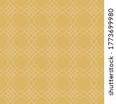 gold background pattern.... | Shutterstock .eps vector #1773699980