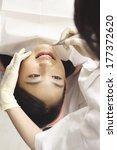 japanese women undergoing... | Shutterstock . vector #177372620