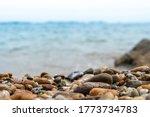 Selective Focus On Rocks...