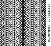 ikat aztec ethnic pattern in... | Shutterstock .eps vector #1773821519
