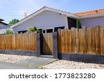 Palisade Wooden Panel Fence For ...