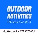 vector sportive logo outdoor... | Shutterstock .eps vector #1773873689