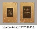set of modern luxury wedding...   Shutterstock .eps vector #1773913496