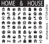 home and house | Shutterstock .eps vector #177391850