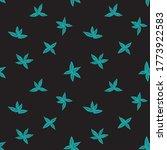 green tropical leaf botanical... | Shutterstock .eps vector #1773922583