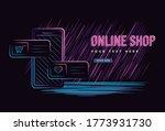 illustration vector graphic of... | Shutterstock .eps vector #1773931730