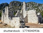Ruins Of Stone Walls Of The...