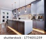 Fashionable Modern Kitchen With ...