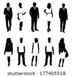 collection of people... | Shutterstock .eps vector #177405518