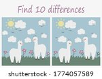 find the differences between... | Shutterstock .eps vector #1774057589